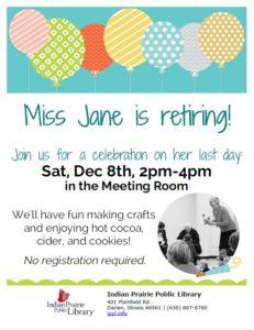 Celebrating Miss Jane