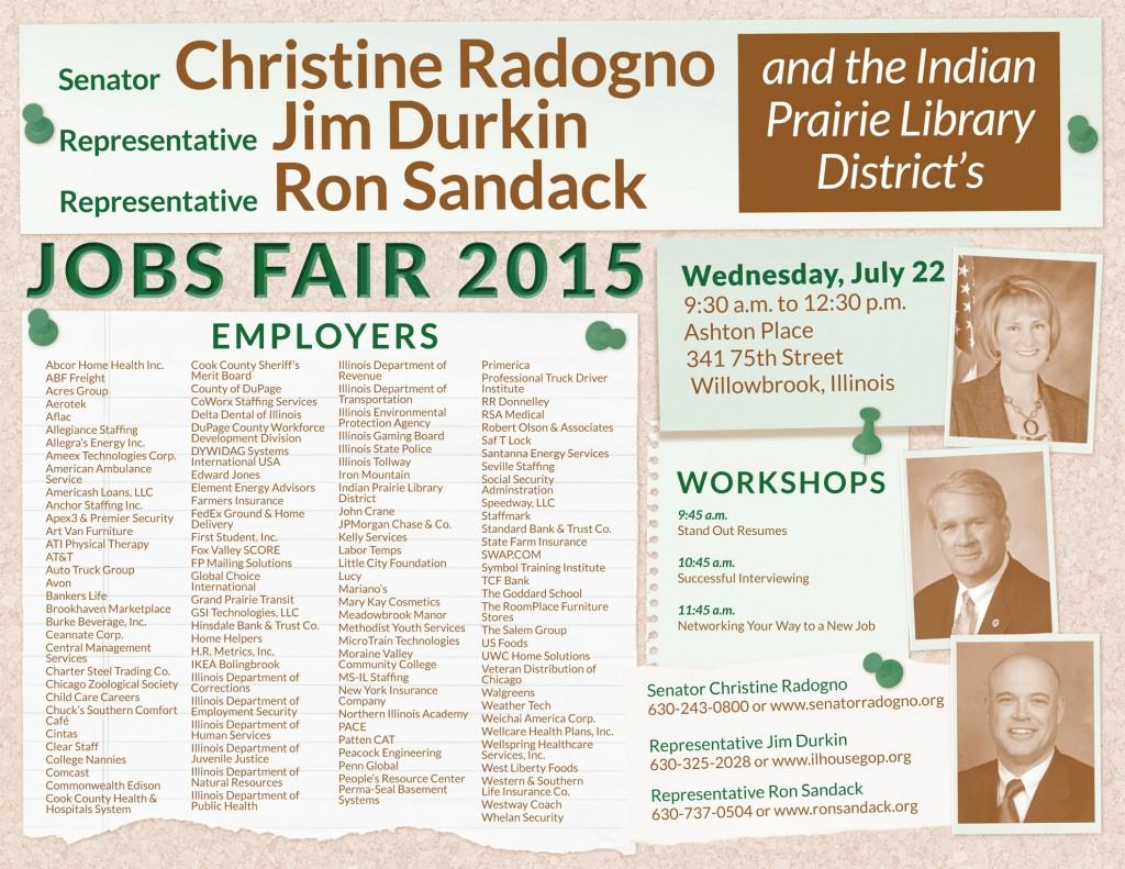 jobs fair flyer 2015