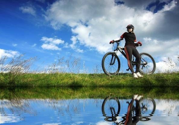 spring-biking